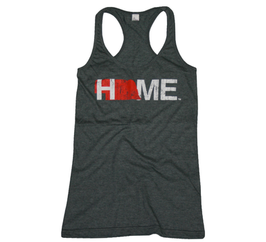 Ladies' Nebraska Tank | HOME | Red