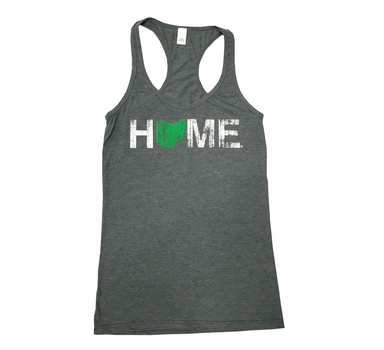 OHIO LADIES TANK | HOME | GREEN