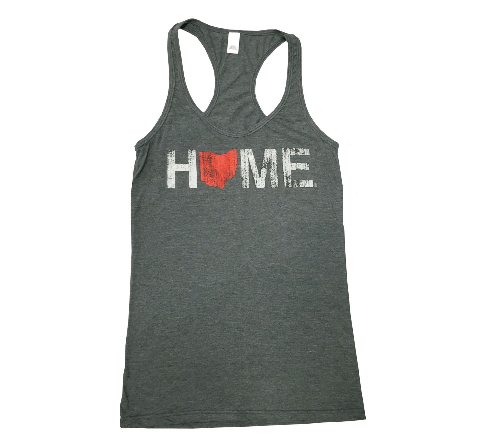 OHIO LADIES TANK | HOME | RED