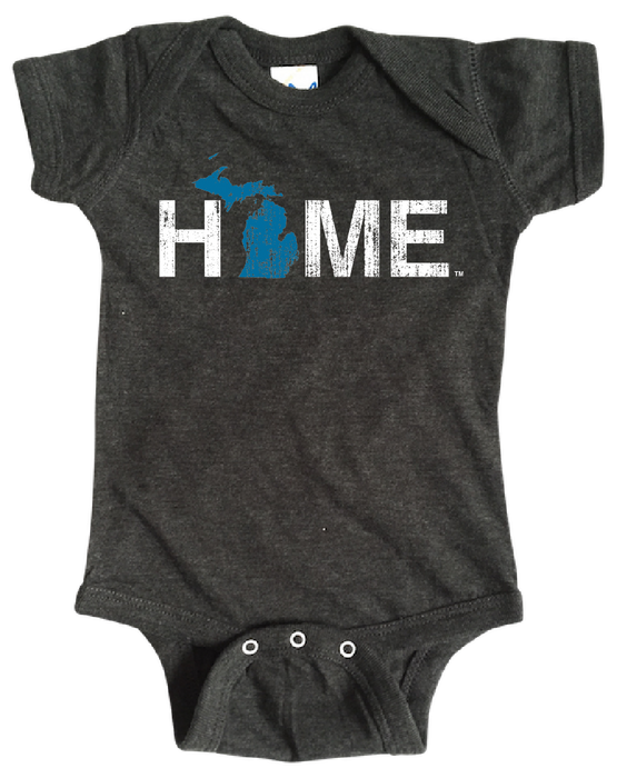 MICHIGAN ONESIE | HOME | BLUE