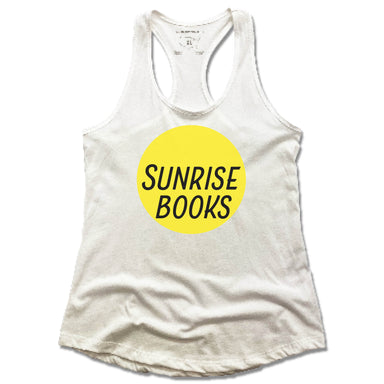 SUNRISE BOOKS | LADIES WHITE TANK | SUN