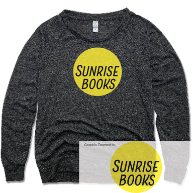 SUNRISE BOOKS | LADIES SLOUCHY | SUN