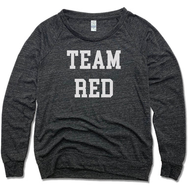 ECHO SALON | LADIES SLOUCHY | TEAM RED