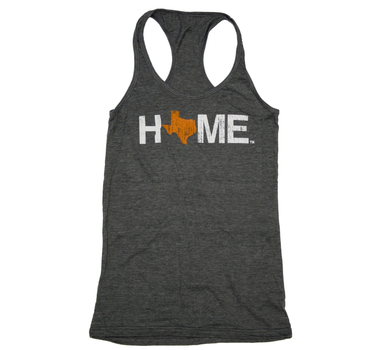 Ladies' Texas Tank | HOME | Orange