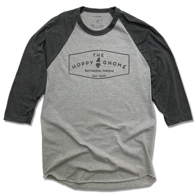 GNOMETOWN BREWING | GRAY 3/4 SLEEVE | VINTAGE LOGO