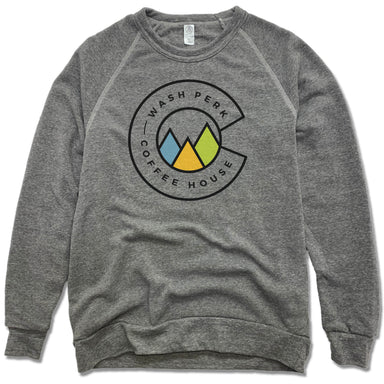 WASHPERK COFFEE HOUSE | FLEECE SWEATSHIRT | MOUNTAINS
