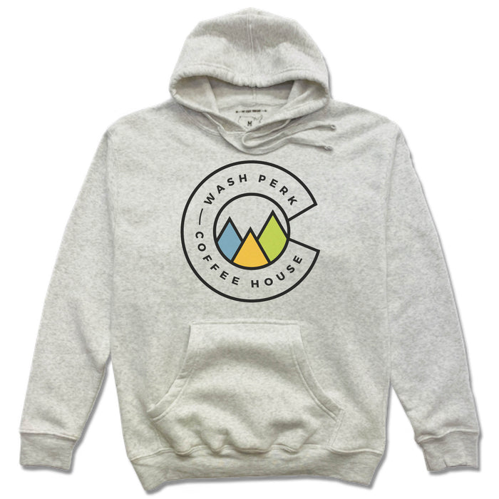 WASHPERK COFFEE HOUSE | FRENCH TERRY HOODIE | MOUNTAINS