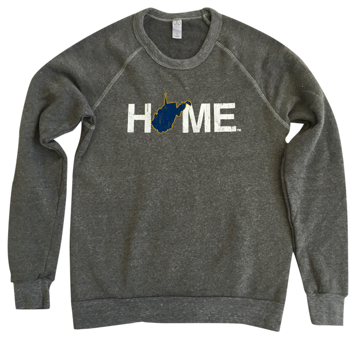 WEST VIRGINIA SWEATSHIRT | HOME | NAVY/GOLD