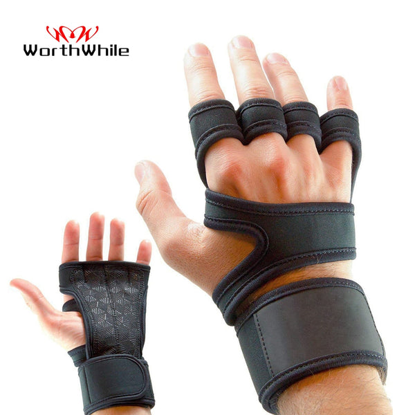 WorthWhie Gym Fitness Gloves Hand Palm Protector