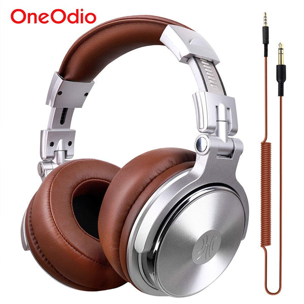 Professional Studio Dynamic Stereo DJ Headphone With Microphone