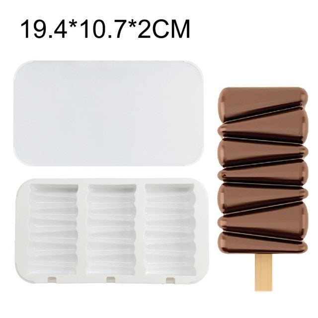 Silicone Freezer Ice Cream Mold