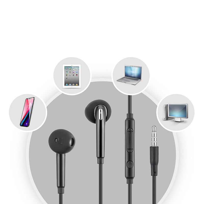 In Ear Earphone Earbud Control for Samsung S6/ S6 Edge 2019 New