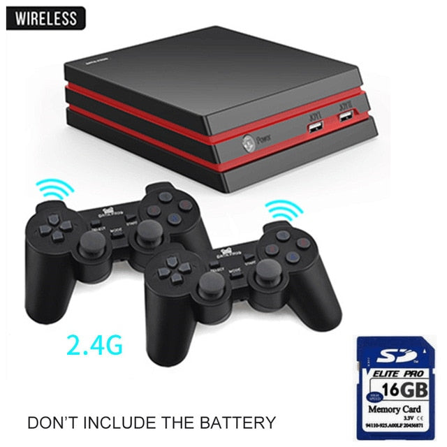 Wireless Controller HDMI Video Game Console 600 Classic Games
