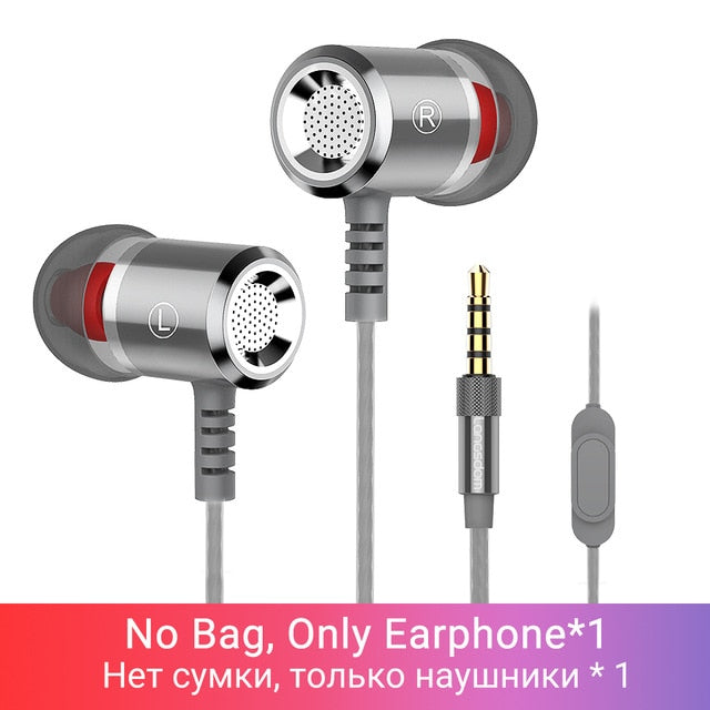 Langsdom M400 Headphones Earphones in Ear Sport Wired
