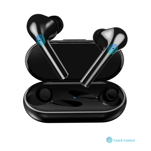 Bluetooth V5.0 Touch operate Headset TWS True Wireless