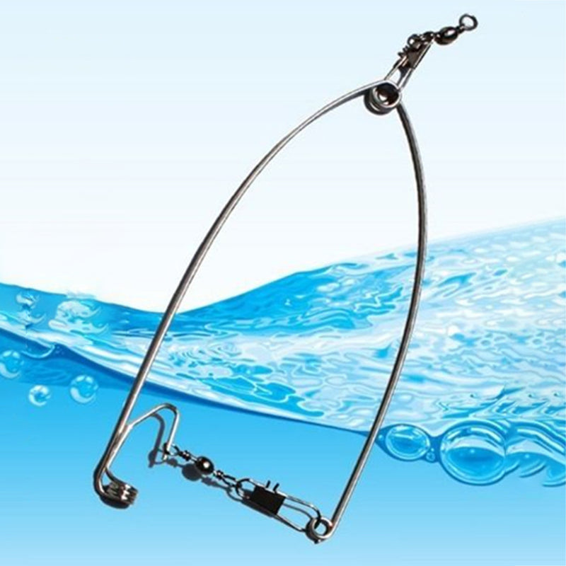 Automatic Full Speed Fishing Hook for Lazy Person Stainless Steel