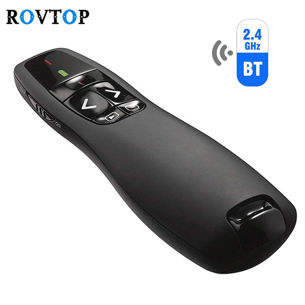 2.4GHz USB R400 Wireless PPT Remote Control Portable