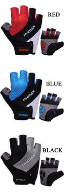 PHMAX Liquid Silicone Cycling Gloves Half Finger