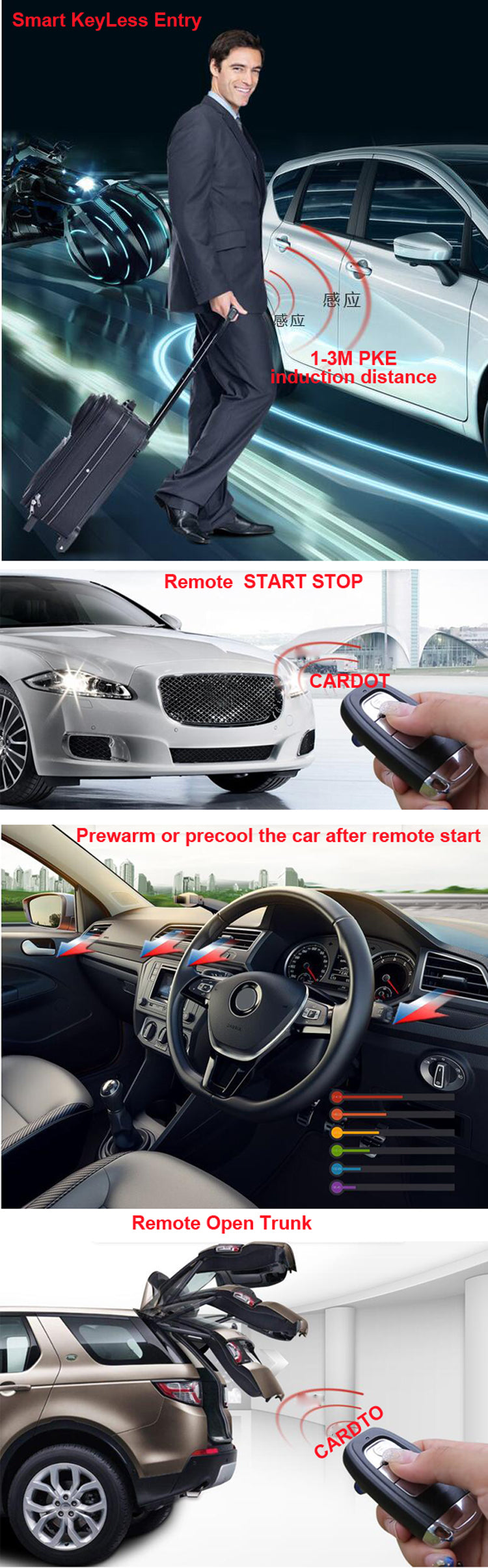 cardot best passive keyless entry system