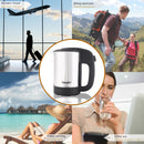 0.5L Mini Electric Kettle Stainless Steel 1000W Portable