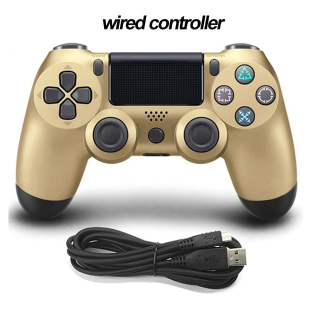 Bluetooth Wireless/Wired Joystick for PS4 Controller