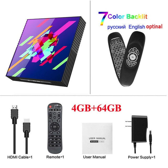 Smart TV BOX A95X Z2+ Android
