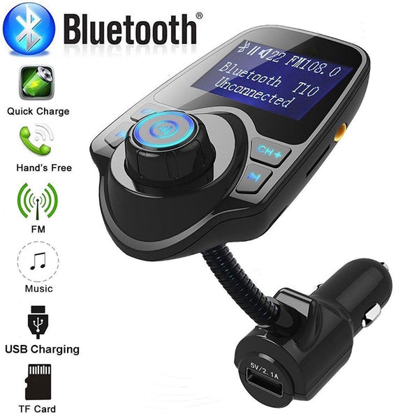 USB  Adapter Chargers Wireless In-Car Bluetooth FM Transmitter MP3 Radio Adapter Car Kit
