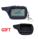 A91 LCD remote control for 2 way car alarm starline 91 starter motor starline A91 keychain with alarm / LCD body