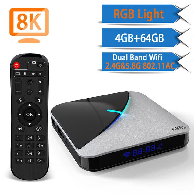 Transpeed A95X Air 8K Android 9.0 TV BOX Amlogic