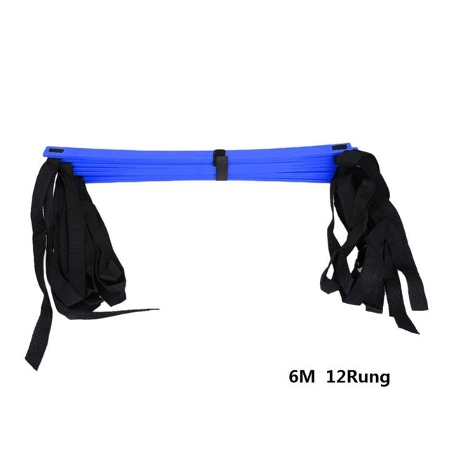 4/6/7/9/12/14 Rung Nylon Straps Agility Training Ladders Soccer Football Speed