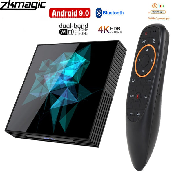 Tv box Android 9.0 A95X   Google Play Smart Android