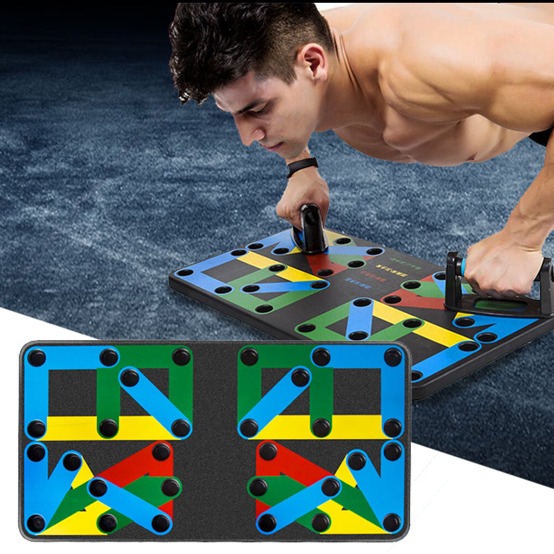 9 in 1 Push Up Rack Training Board ABS abdominal Muscle Trainer