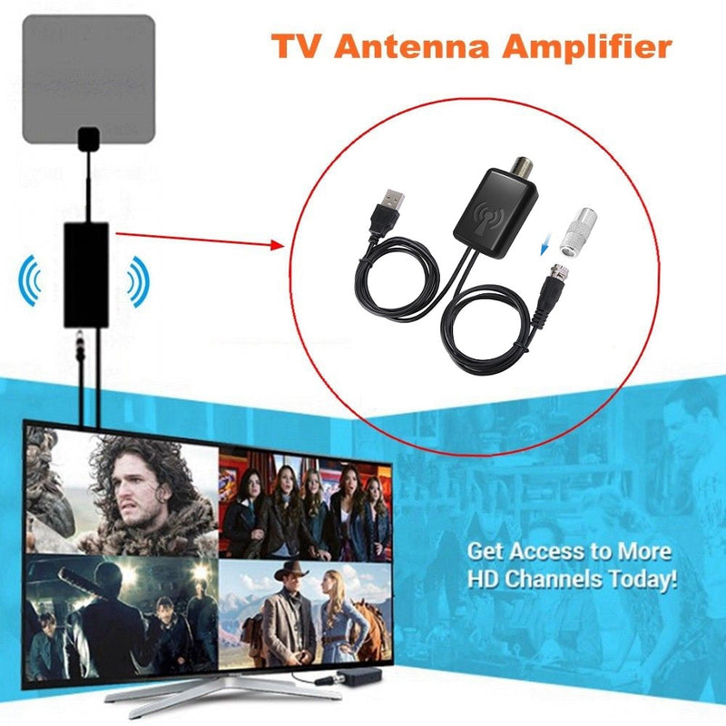 TV Signal Amplifier Booster Convenience And Easy