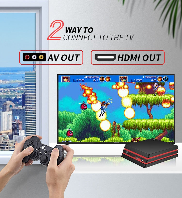 DATA FROG Video Game Console 4K HDMI Output Retro