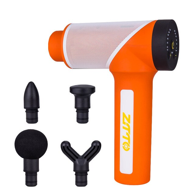 ZTTO Sport Muscle Massage Gun Deep Tissue Massager Therapy Gun Exercising Muscle Pain Relief Body Shaping