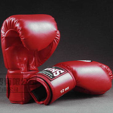 10 12 14 oz Boxing Gloves PU Leather Muay Thai Guantes De Boxeo