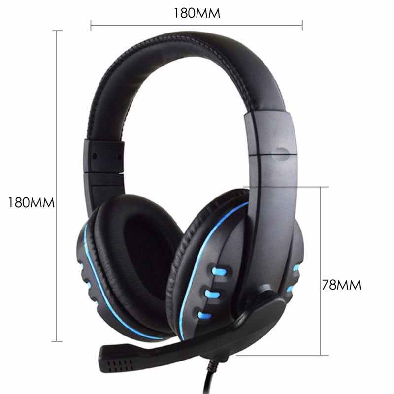 Game Earphone Professional Computer Gamer Headphone With HD Microphone for Computer