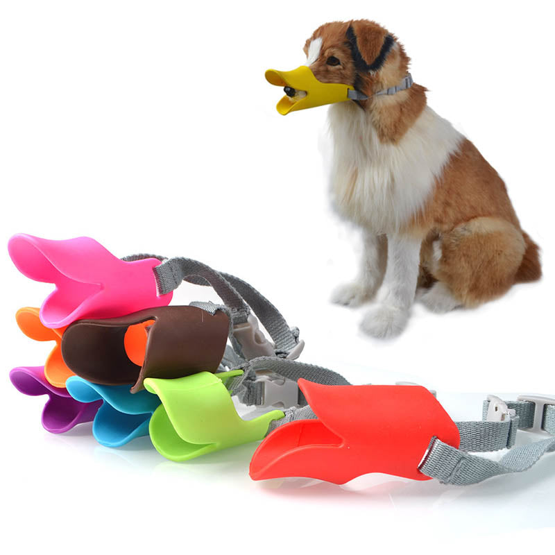 Anti-bite Masks Duck Mouth Mask Pets