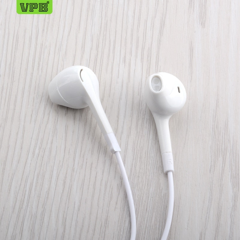 VPB S30 Sport Earphone wholesale Wired Super Bass 3.5mm Crack Earphone Earbud