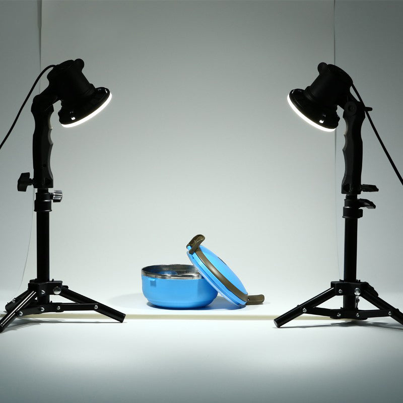 2 piece LED lamp photography studio