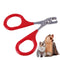 Professional Pet Dog Puppy Nail Clippers