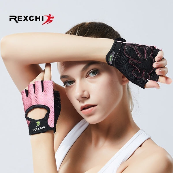 REXCHI Professional Gym Fitness Gloves Power Weight
