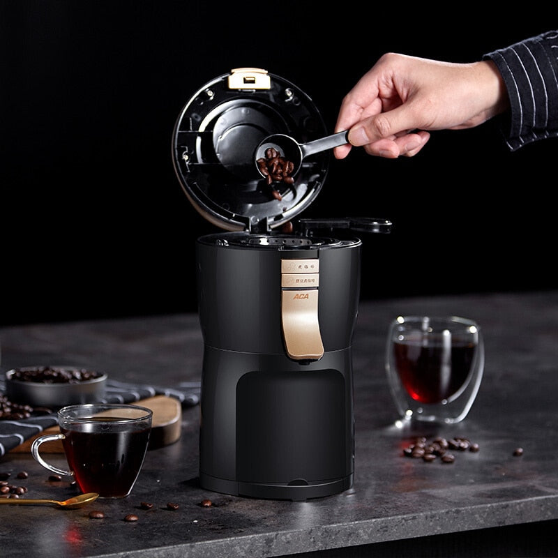 Fully Automatic American Coffee Machine Maker Grinder