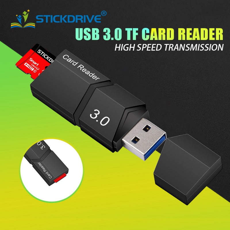 Microdrive Brand USB 3.0 card reader micro sd adapter smart micro sd card