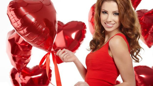 Saint Valentine's Day!! Which hair-dress can we make with our hair-prothesis?