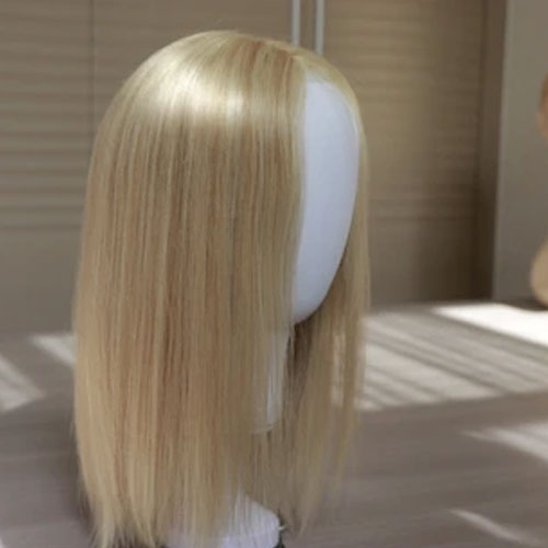 Soft and comfortable Medical Wig in blonde European hair !
