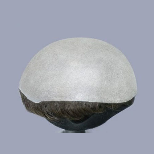 PARTIAL HAIR-PROTHESIS IN STOCK REALIZED 0,06  KNOTTED SKIN (EUROPEAN HAIR)