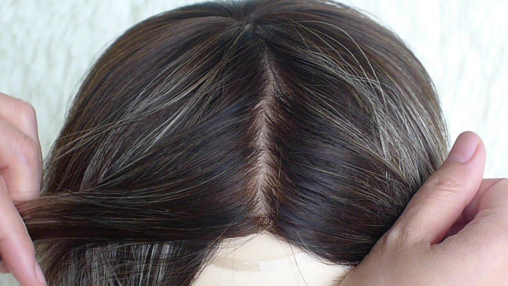 PARTIAL  TOP CLOSURE HAIR-PROTHESIS FOR WOMEN