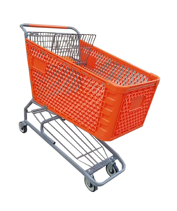 Plastic Shopping Cart 200 Liters