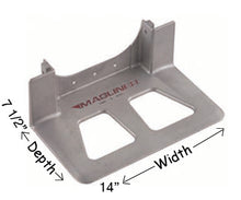 Load image into Gallery viewer, Aluminum Hand truck Nose plate hand truck parts